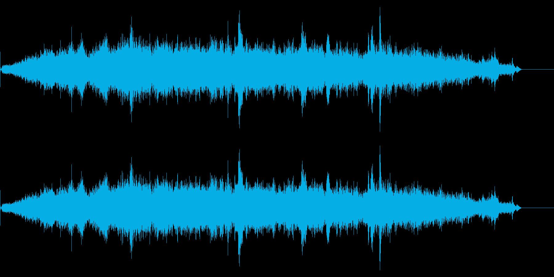 街の音シリーズ カフェの再生済みの波形