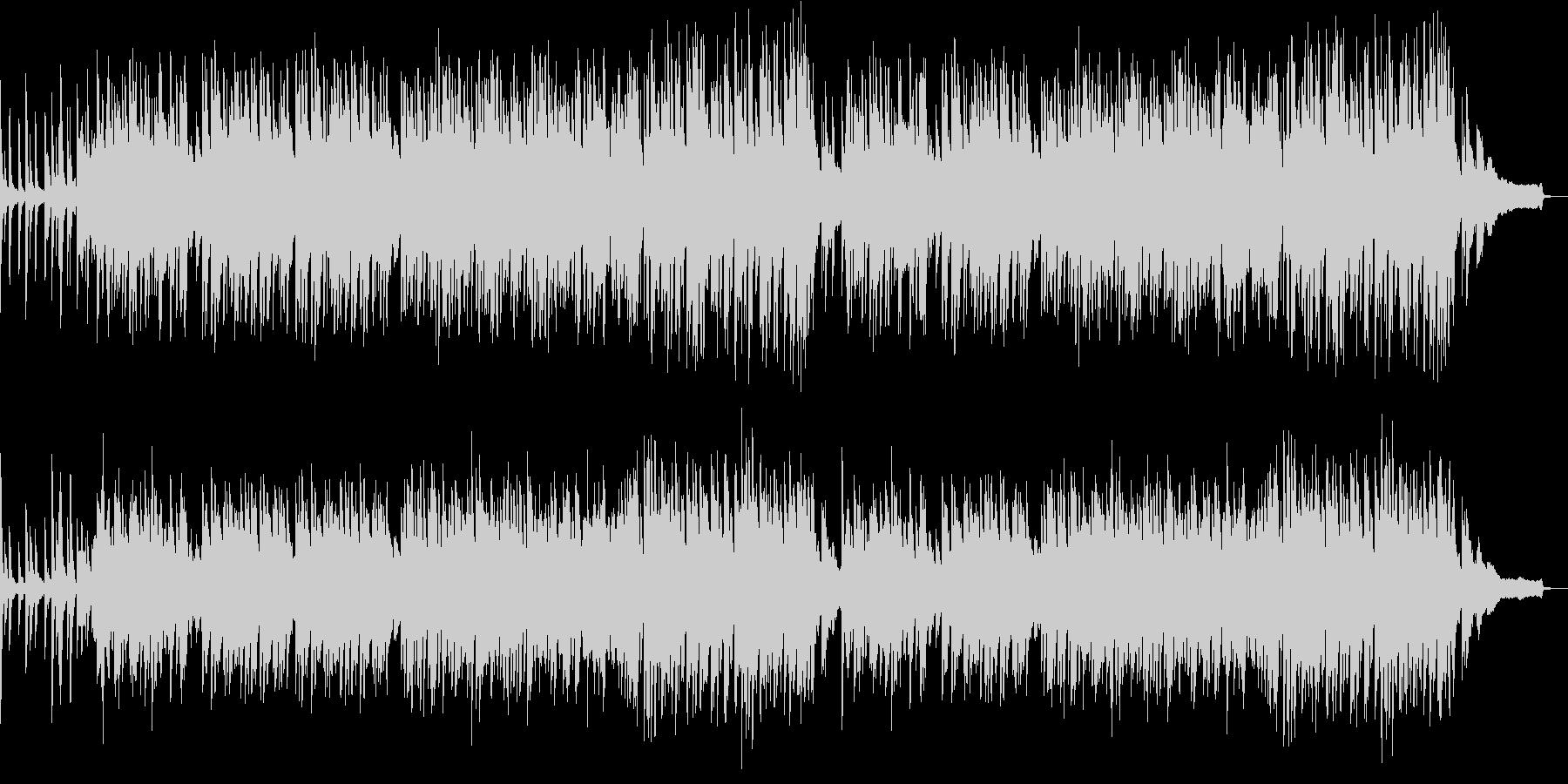 ポップなピアノ曲 の未再生の波形
