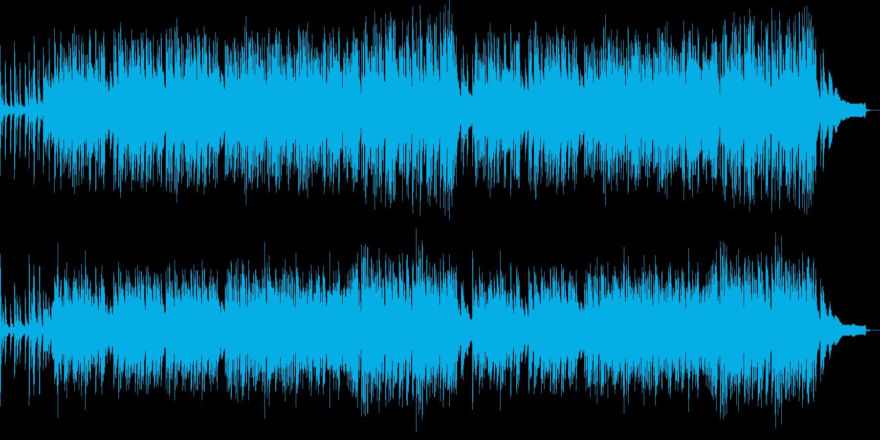 ポップなピアノ曲 の再生済みの波形
