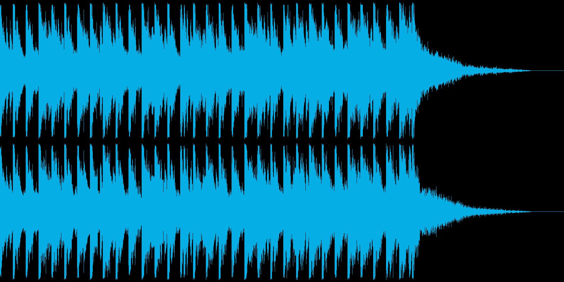 オシャ4つ打ち、スタイリッシュ雰囲気系4の再生済みの波形