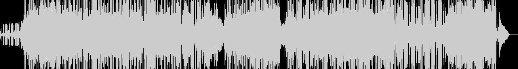 サックス&フルートのジャズドラムンベースの未再生の波形