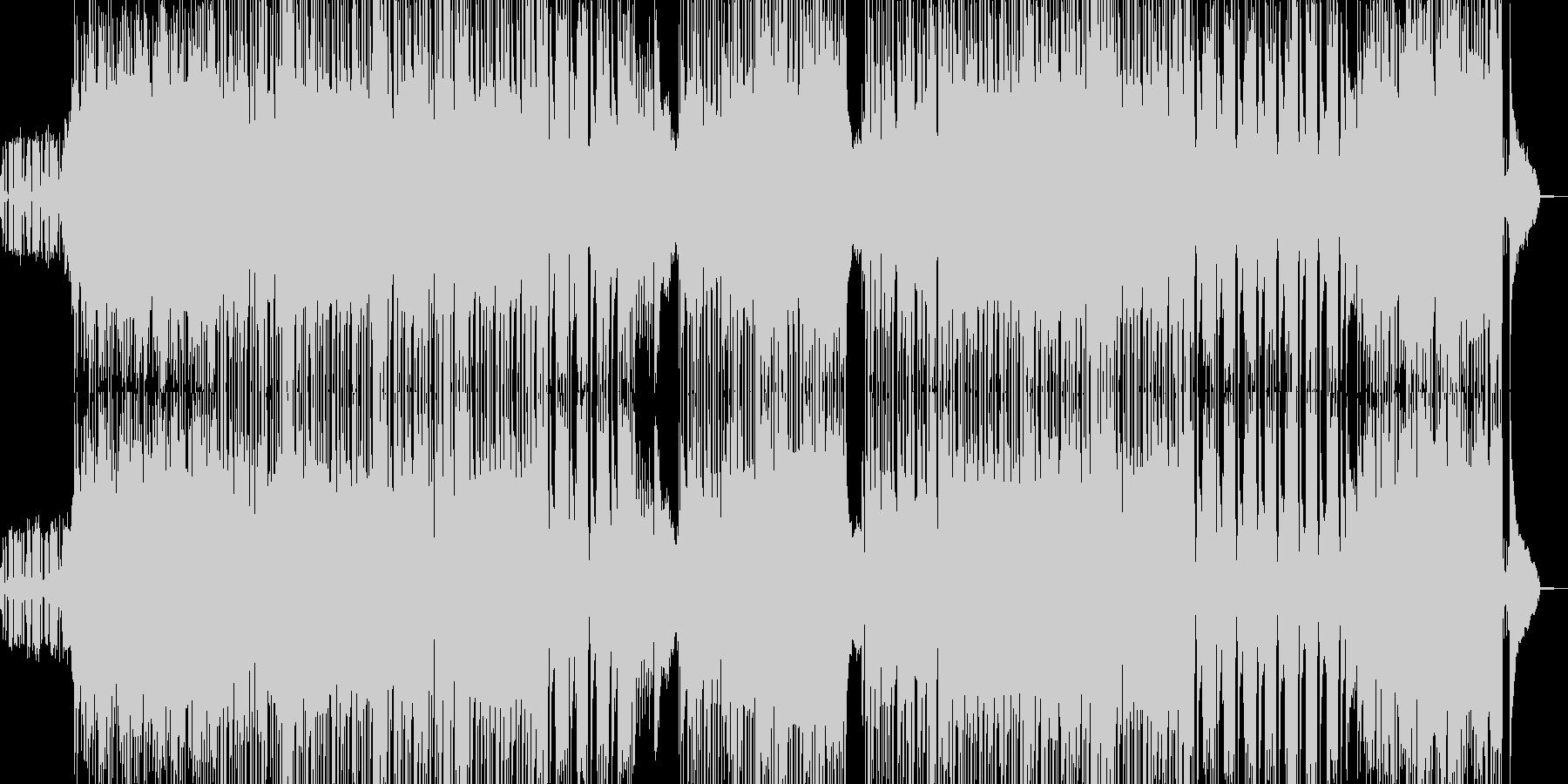 夜のドライブを演出するサックス&ベースの未再生の波形