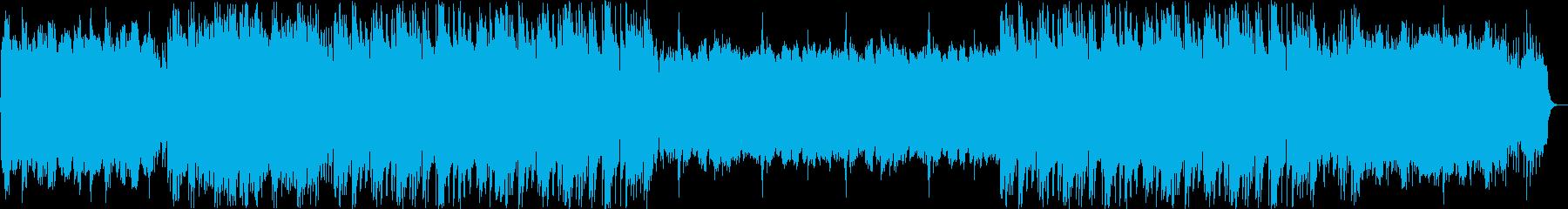 切ないアコーディオンと三味線の融合の再生済みの波形