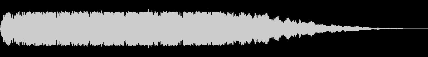 ブルブルブル(長め)の未再生の波形