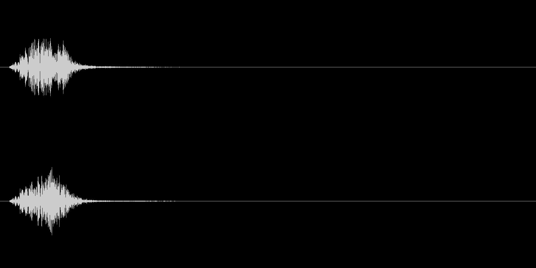 【ショートブリッジ03-1】の未再生の波形