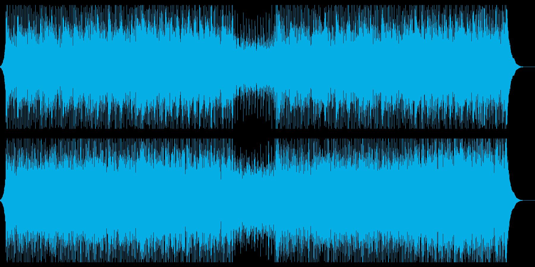 やる気が湧いてくる爽やかなポップロックの再生済みの波形