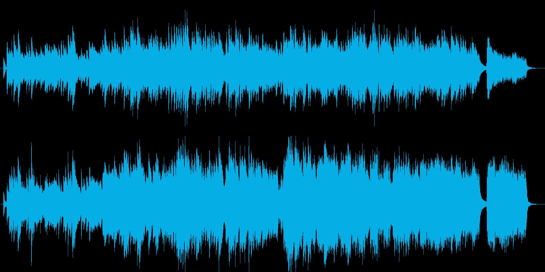 優しさに溢れるシーンに合うピアノ曲の再生済みの波形
