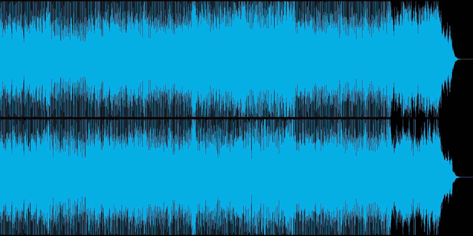 爽やかで軽快なオープニングでフレッシュにの再生済みの波形
