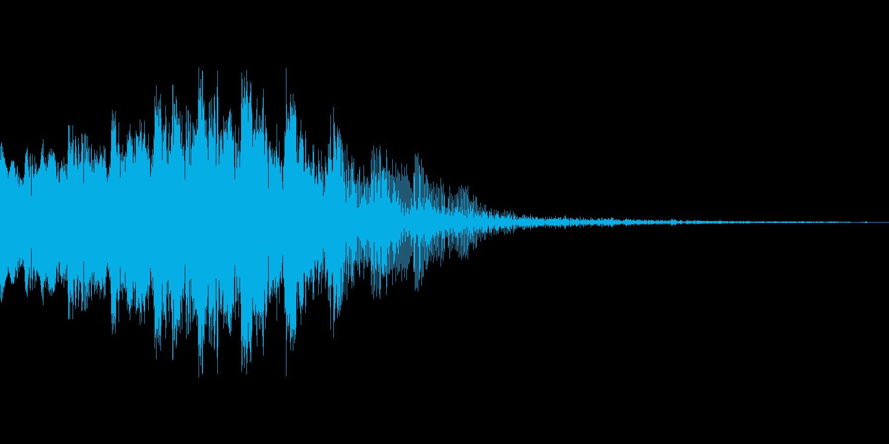 電子音(画面転換等の再生済みの波形