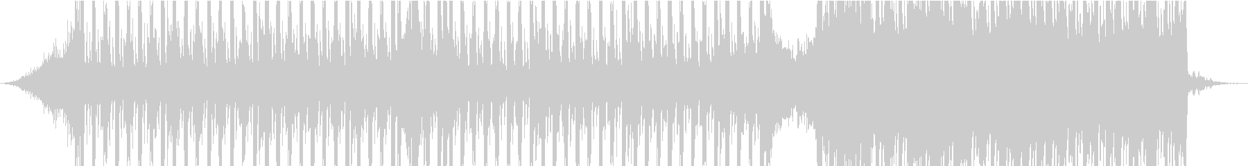 CMプロモーション用のBGMですの未再生の波形