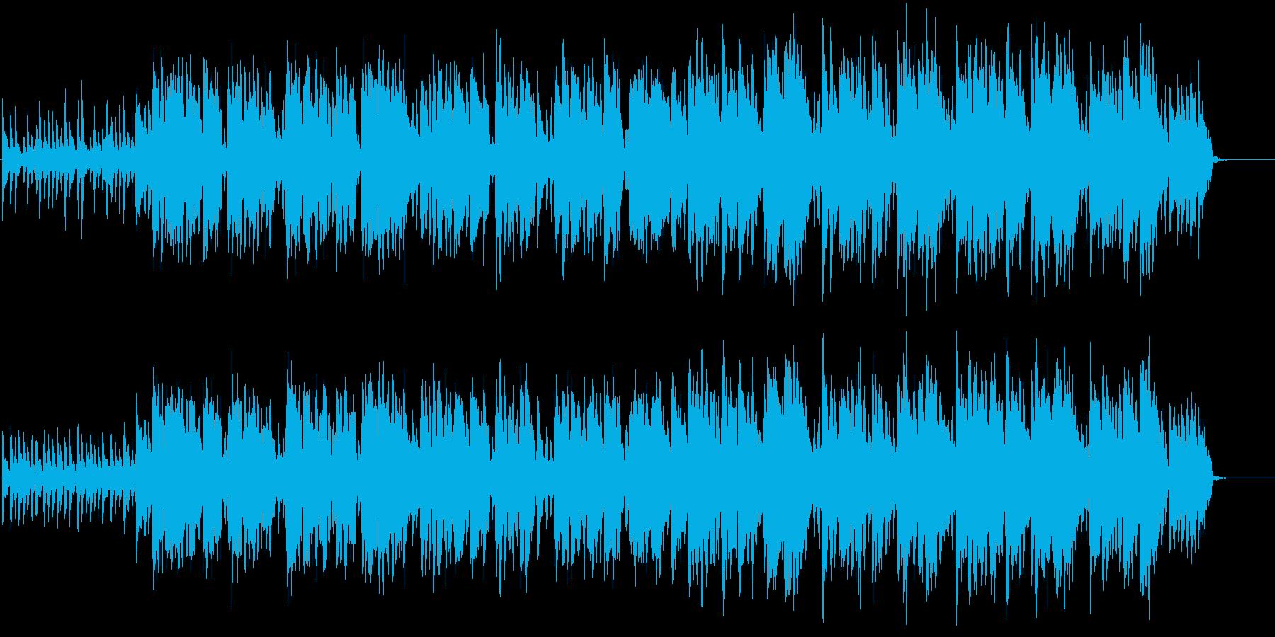 明るい楽しい音楽、かわいい映像にも。の再生済みの波形