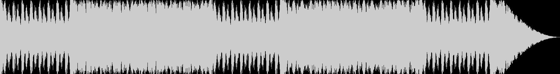 ストリングスの行進曲風オーケストラの未再生の波形
