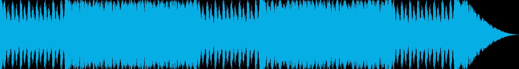 ストリングスの行進曲風オーケストラの再生済みの波形