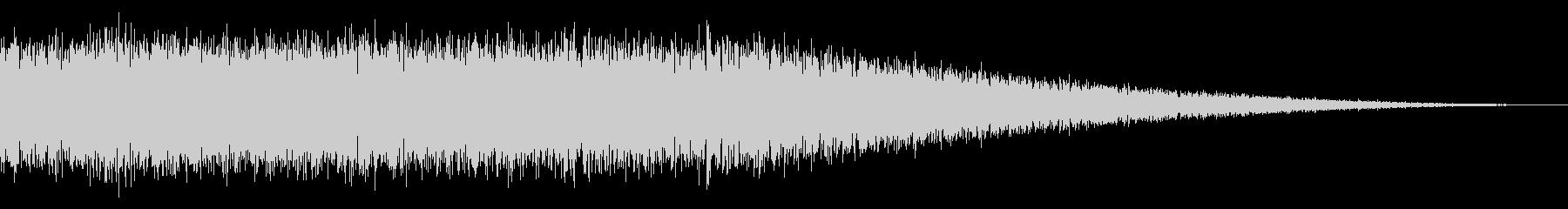 戦車の走行音/キャタピラの効果音 09の未再生の波形