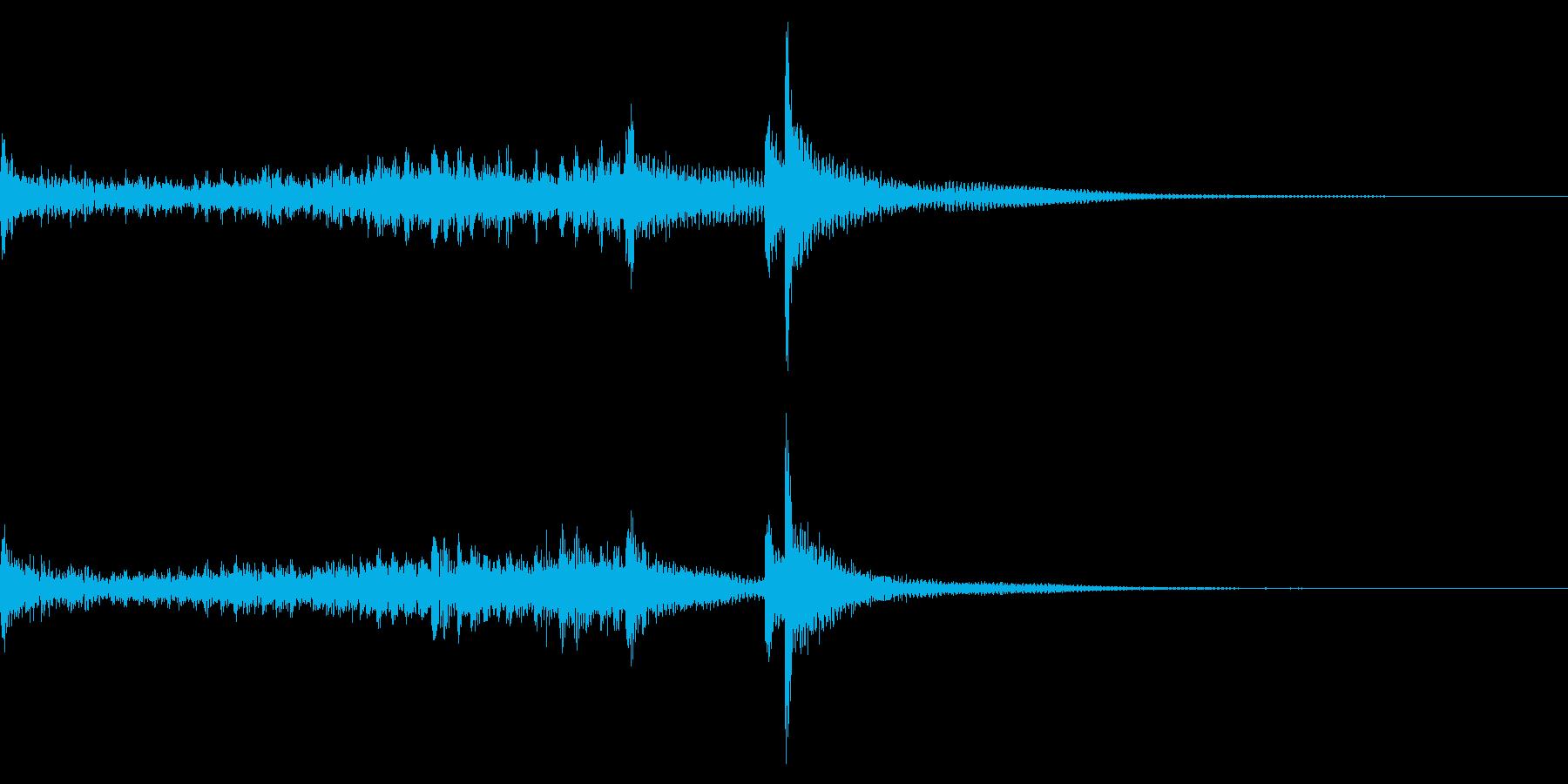 ティンパニーロールドドン☆ミドル1の再生済みの波形
