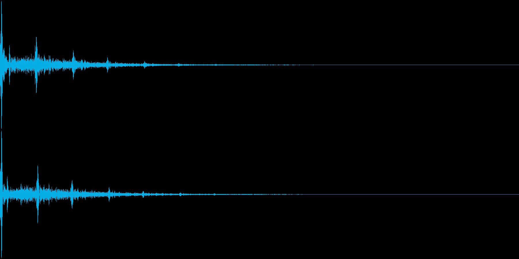 Shizuku 雫が垂れるようなSEの再生済みの波形
