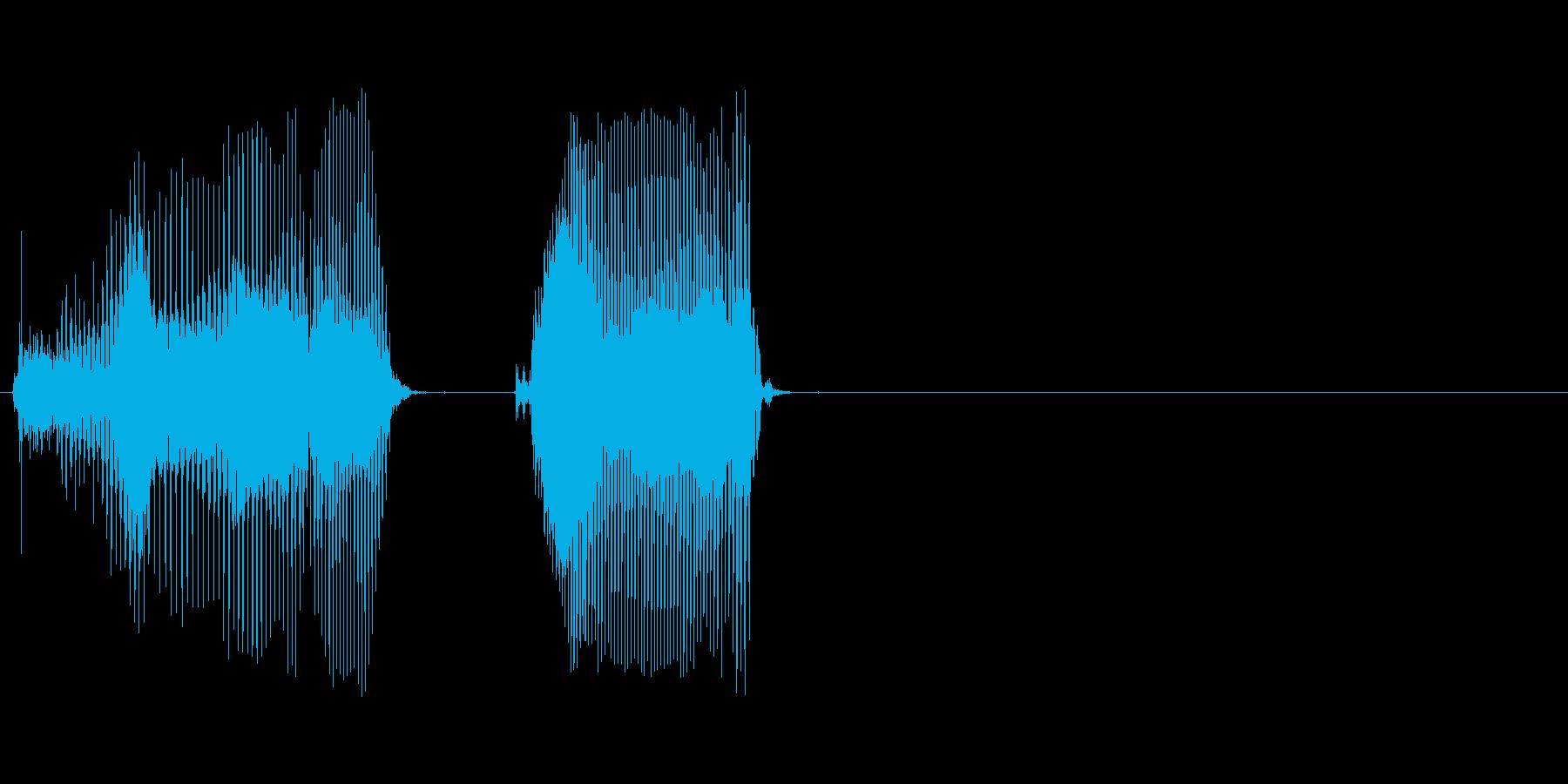 経過の再生済みの波形