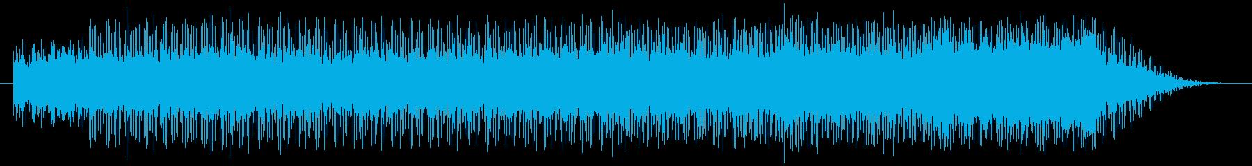 『見渡す限りの花菖蒲』をイメージの再生済みの波形