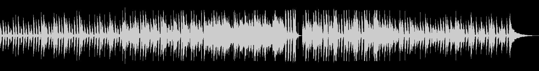 バンジョーと鍵盤ハーモニカのレトロポップの未再生の波形