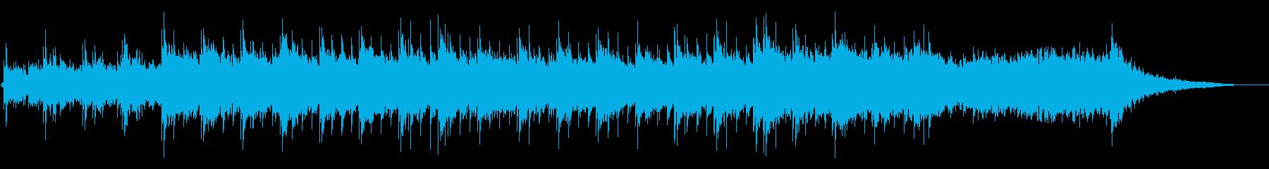優しく静かなピアノのヒーリングBGMですの再生済みの波形