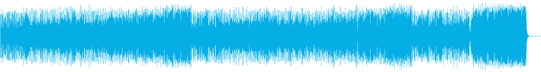 わくわくする軽快なポップ(フルサイズ)の再生済みの波形