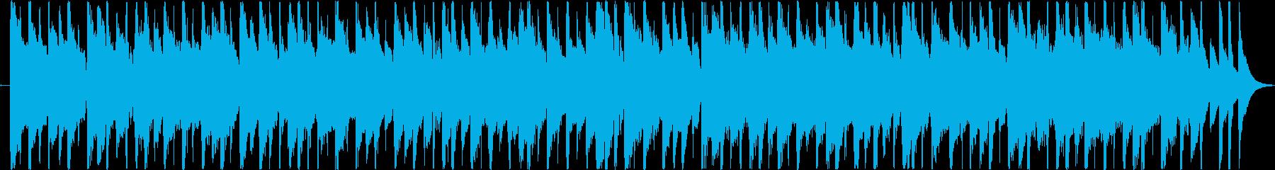 楽しくコミカルなBGM(30ver)の再生済みの波形