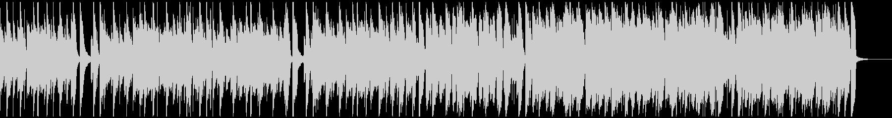 ほのぼのアコースティックBGMハーモニカの未再生の波形