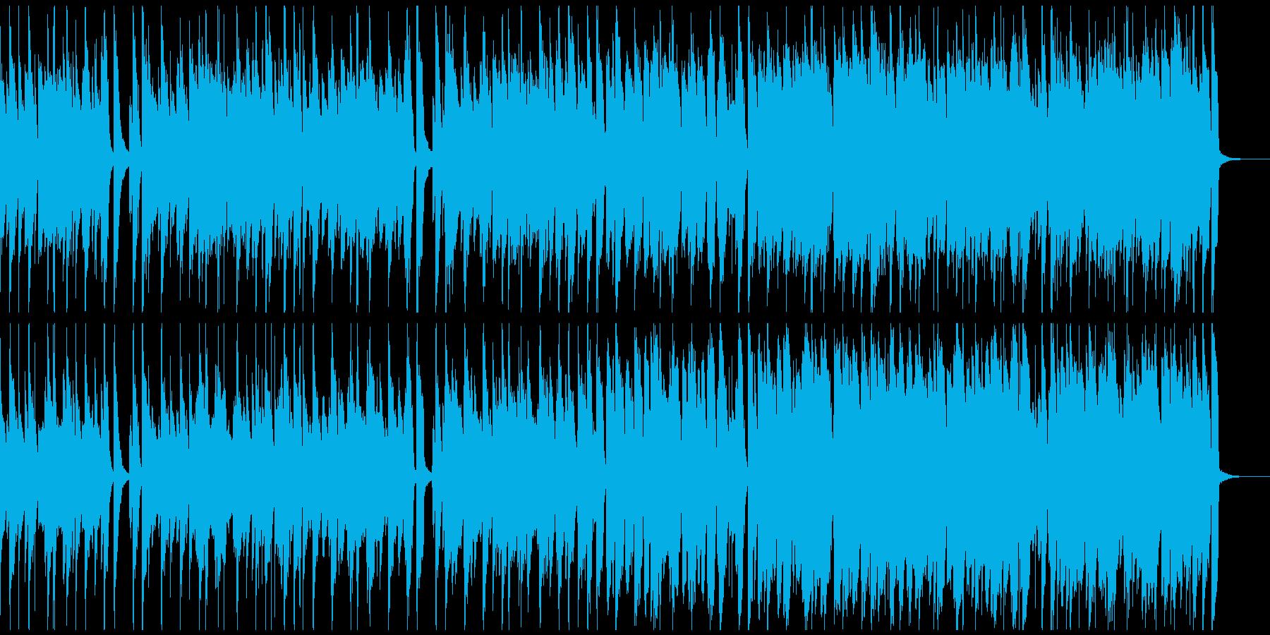 ほのぼのアコースティックBGMハーモニカの再生済みの波形