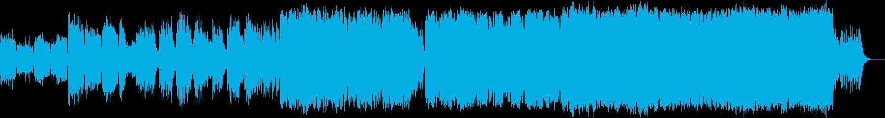 冬の定番ジングルベルアレンジ版の再生済みの波形
