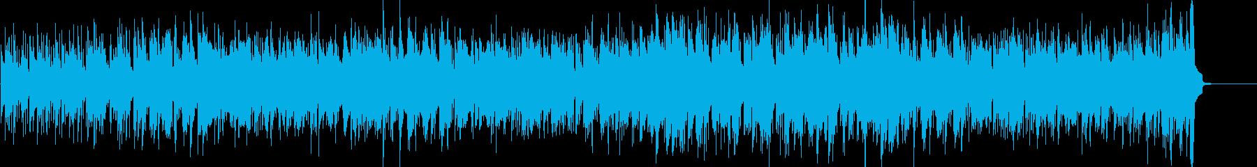 ハロウィンの楽しさをサルサで表現しましたの再生済みの波形