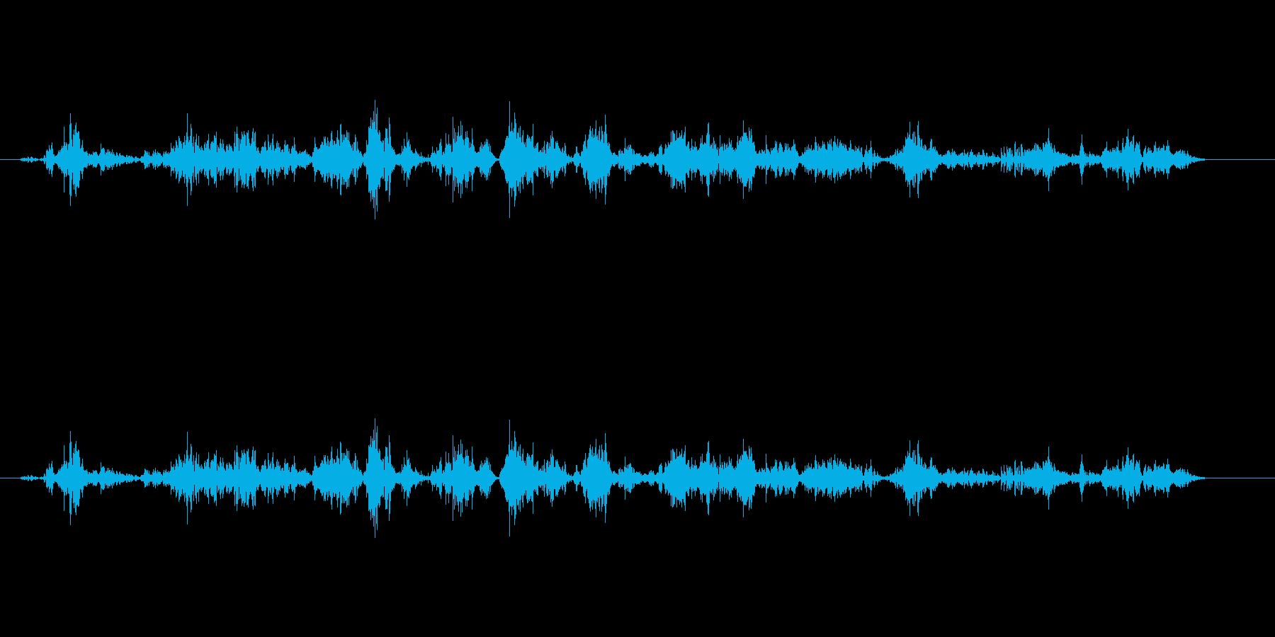【鉛筆削り02-1(削る)】の再生済みの波形