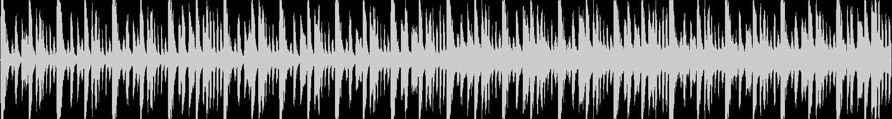シンセ+ブレイクビーツBGMの未再生の波形