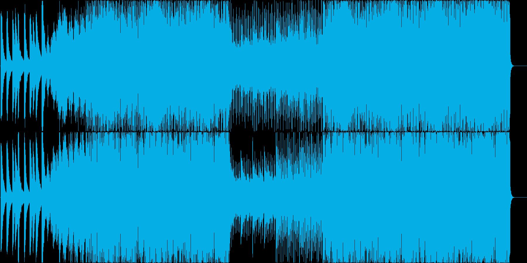 幻想的、神秘的、なイメージ ピアノメインの再生済みの波形