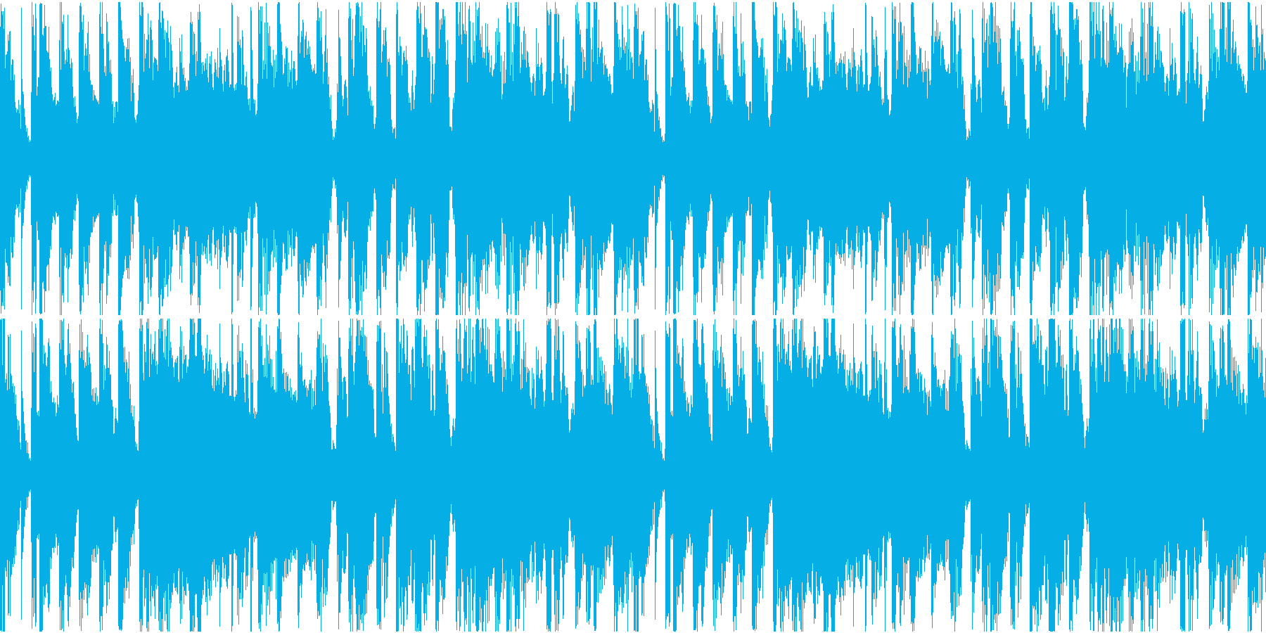 気だるい雰囲気のヒップホップショートの再生済みの波形