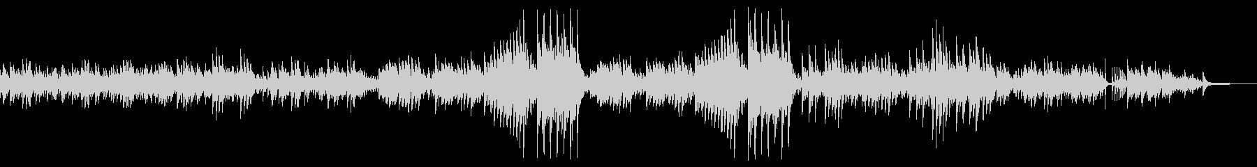前奏曲「雨だれ」(ピアノ)の未再生の波形