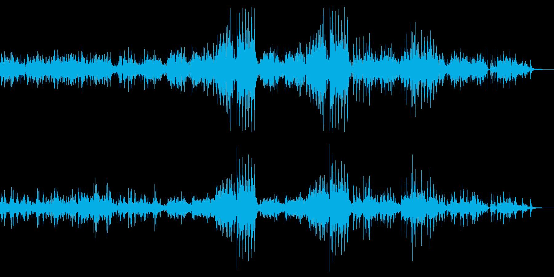 前奏曲「雨だれ」(ピアノ)の再生済みの波形