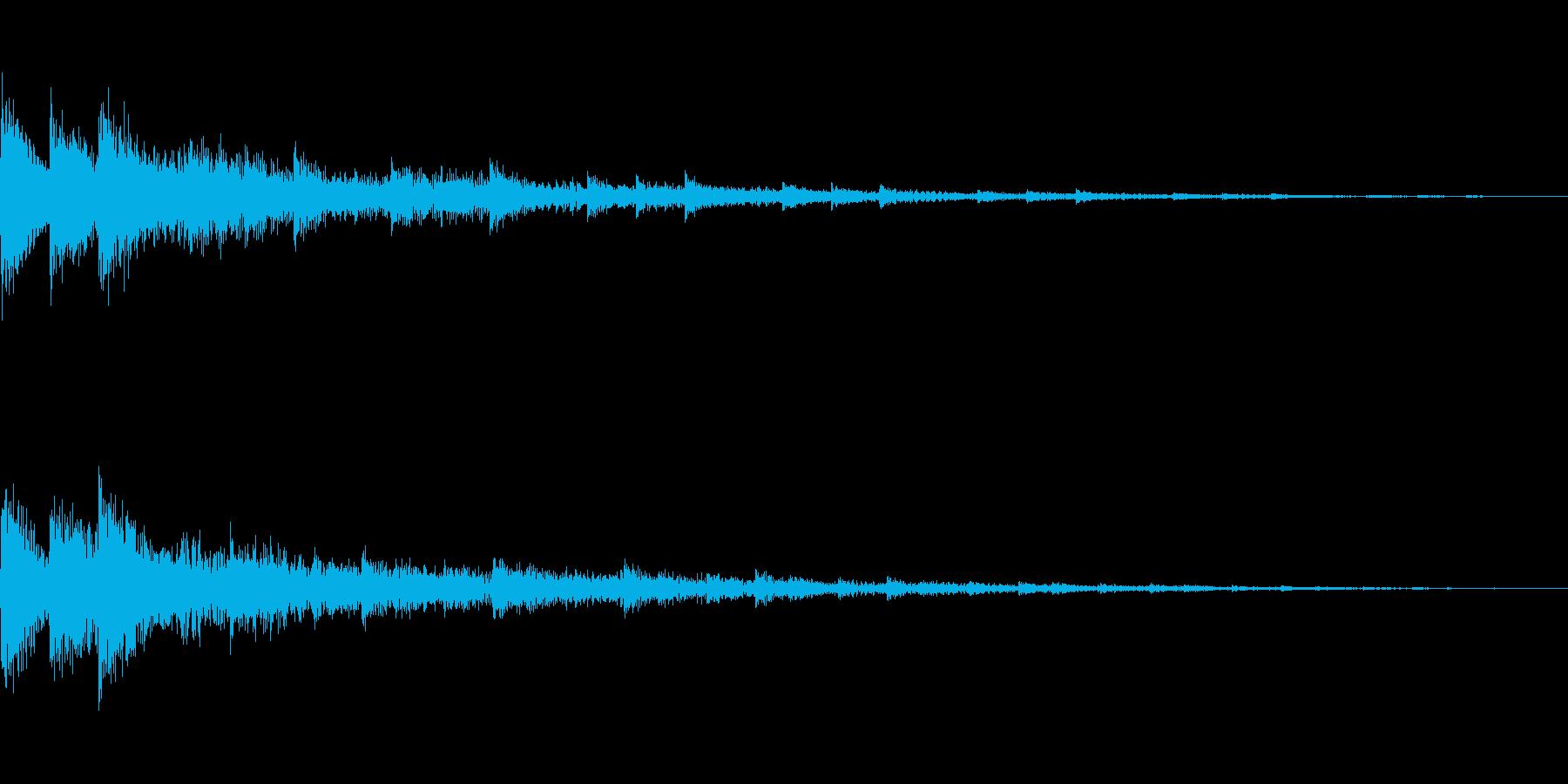 [ティロリン]選択・決定(可愛く)の再生済みの波形