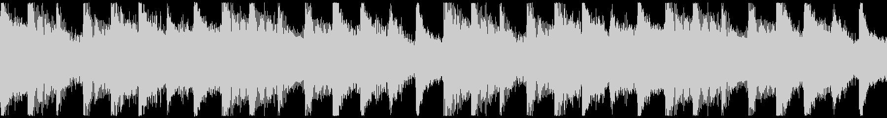 躍動感,オシャレCM、ループ2の未再生の波形