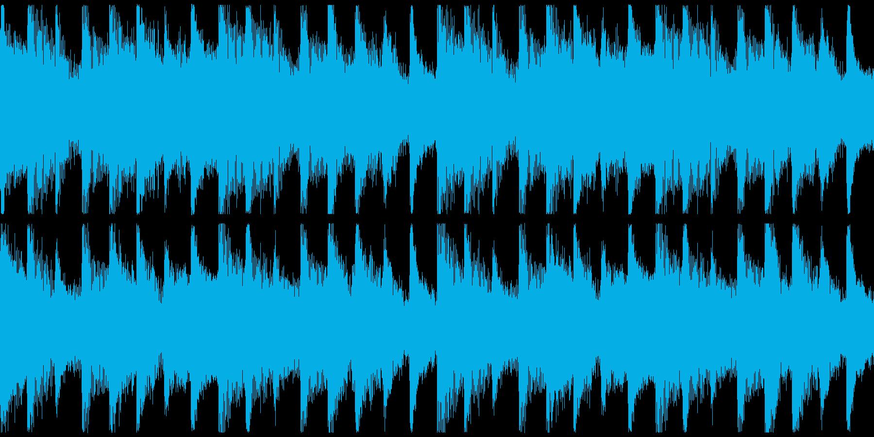 躍動感,オシャレCM、ループ2の再生済みの波形