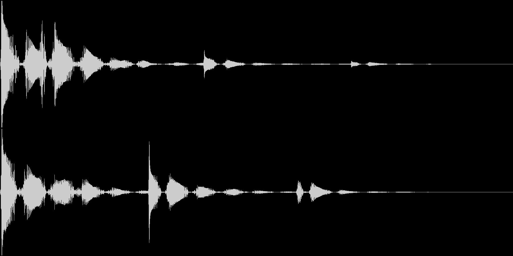 RPG 毒・麻痺攻撃のSE ブクブク 1の未再生の波形