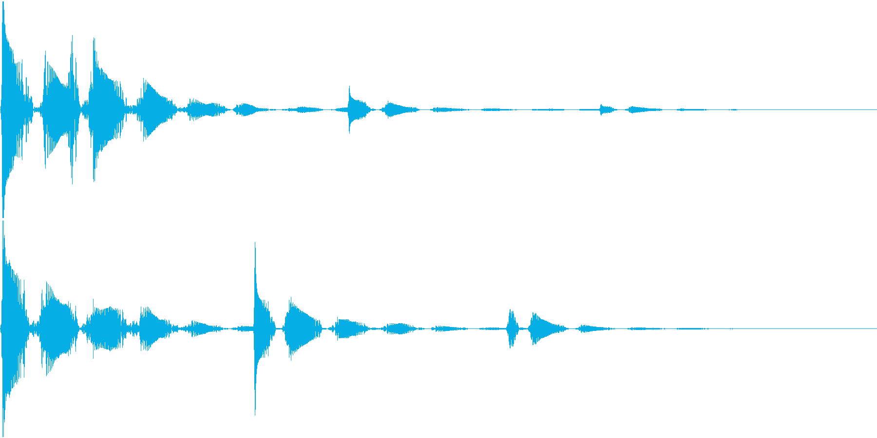 RPG 毒・麻痺攻撃のSE ブクブク 1の再生済みの波形