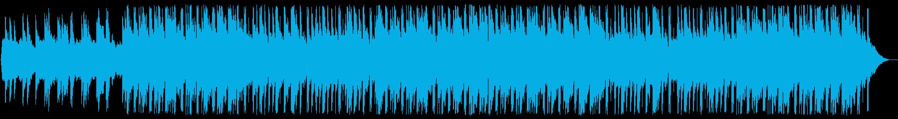 ノスタルジックで感動的な少し切ないBGMの再生済みの波形