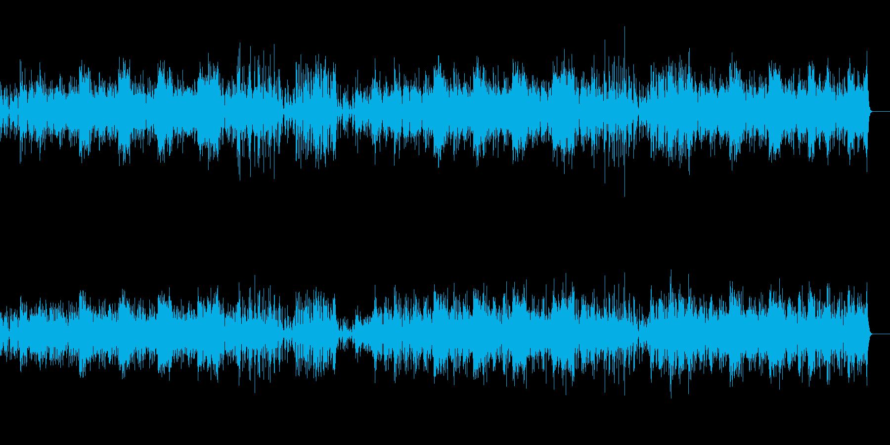 サバンナのアフリカン風ワールド系BGMの再生済みの波形