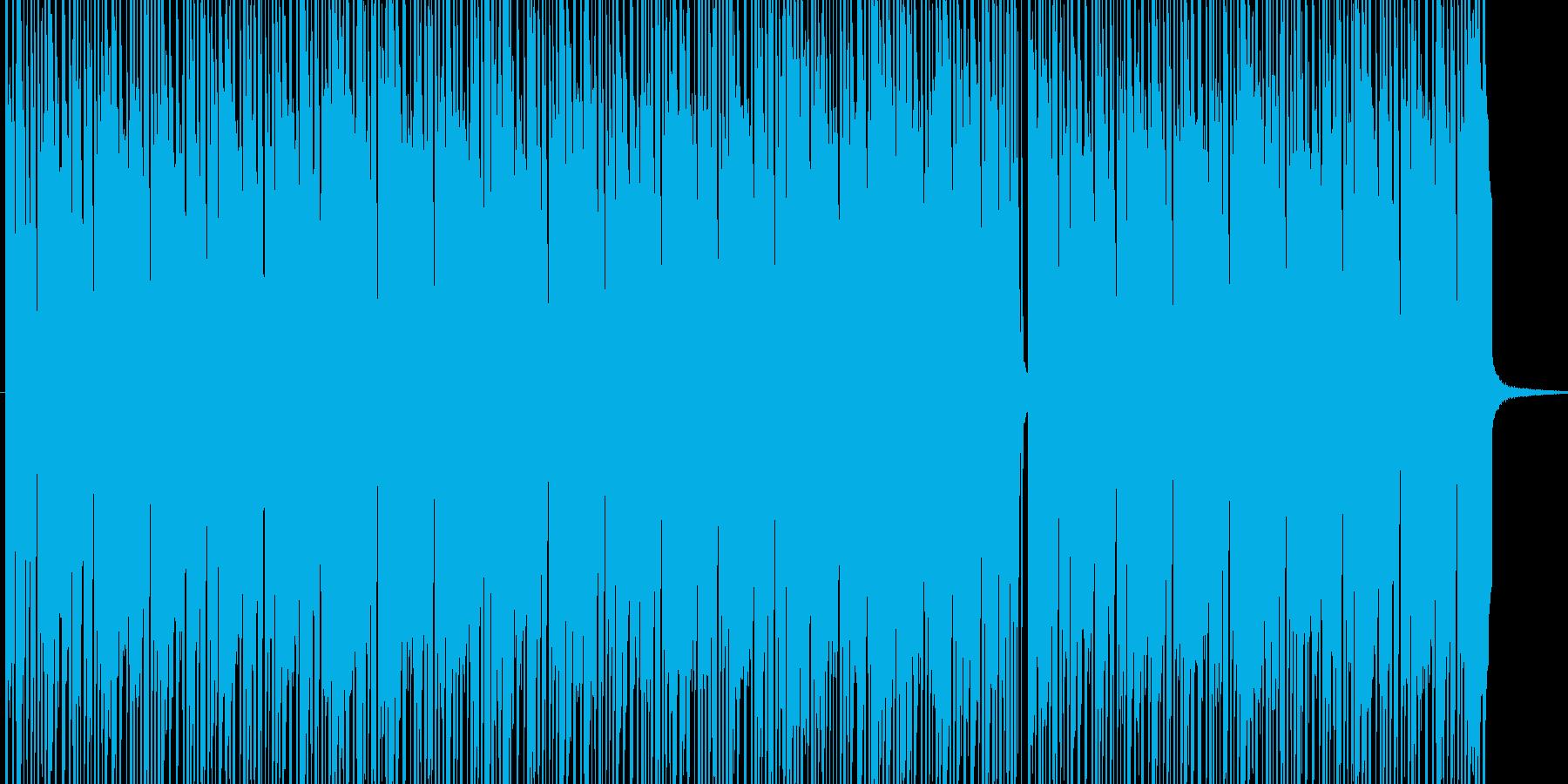 ボサノバ風BGM BPM140 の再生済みの波形