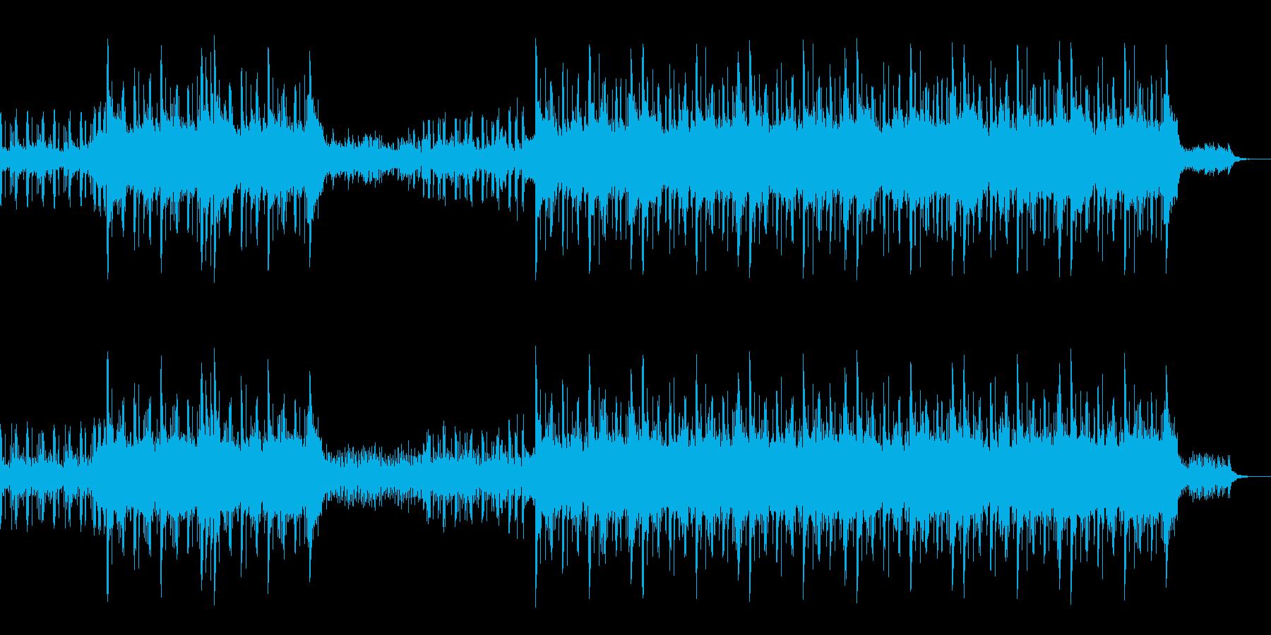 ミニマルなロック 楽しいCMにの再生済みの波形