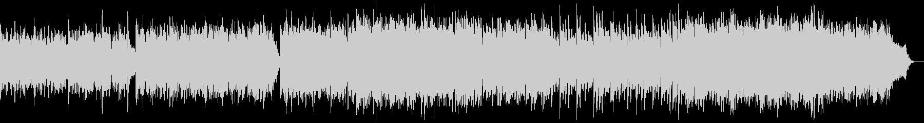 バイエル風から讃美歌風に発展するピアノの未再生の波形