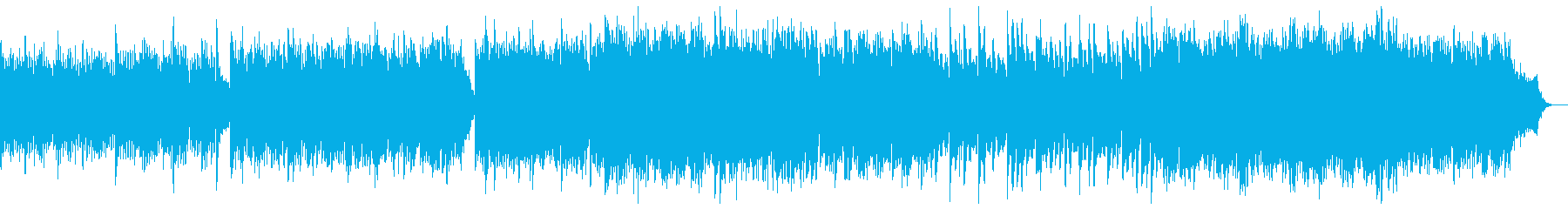 バイエル風から讃美歌風に発展するピアノの再生済みの波形