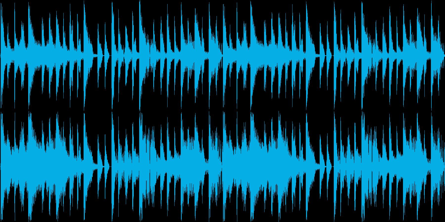 【落ち着いた雰囲気/ラウンジ/ピアノ】の再生済みの波形