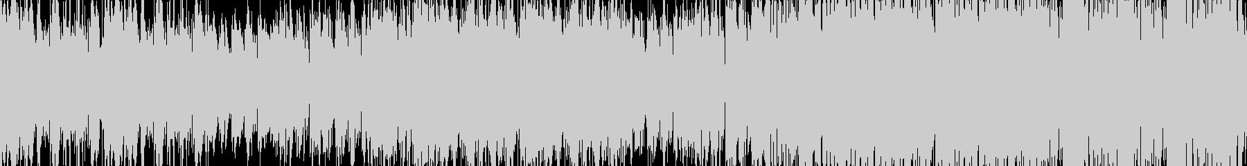 ループ:ケルト・アイリッシュ風幻想的な曲の未再生の波形