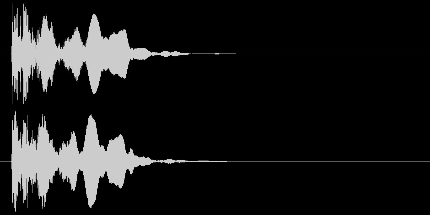 邦楽_テロップ表示の未再生の波形